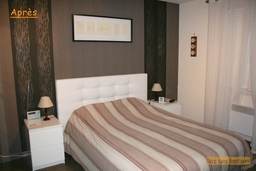 chambre wenge et taupe chambre wenge deco sukmatournet - Chambre Wenge Deco